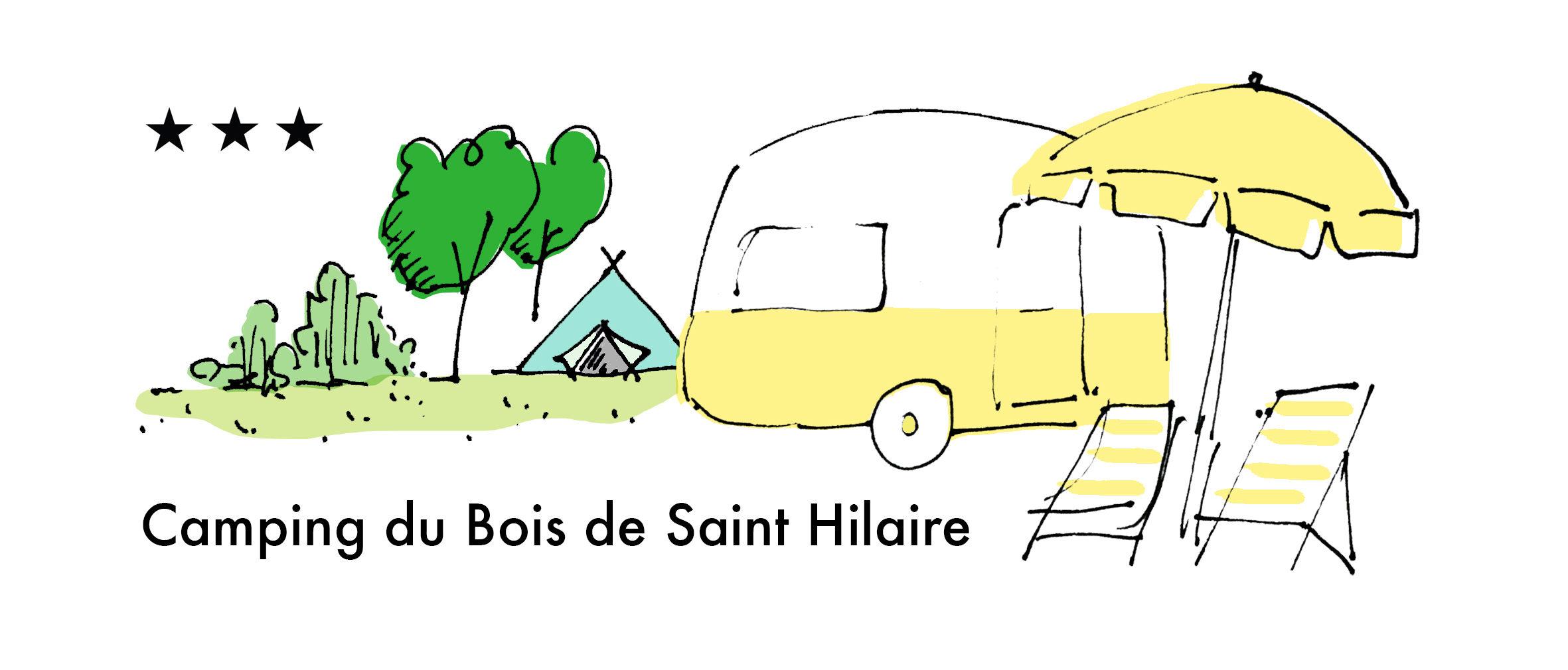 Clara the Vintage Caravan - Camping du Bois de St Hilaire